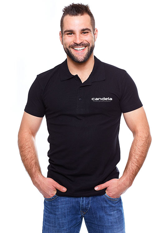 Man With Candela T-Shirt